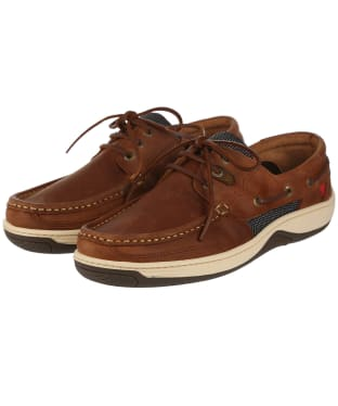 Men's Dubarry Regatta Boat Shoes - Chestnut