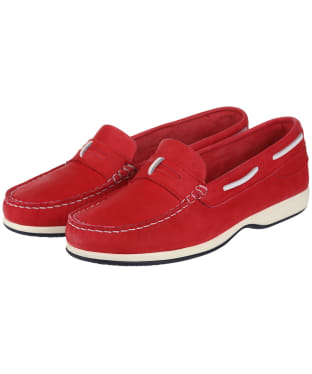 Women's Dubarry Sardinia Moccasins - Raspberry