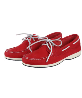 Women's Dubarry Elba X Light Moccasins - Raspberry