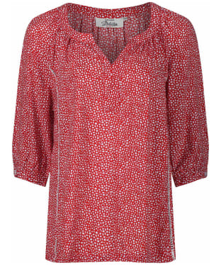 Women's Dubarry Dahlia Print Top - Poppy