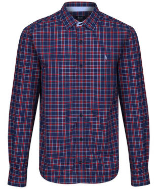 Men's Jack Murphy Monty Shirt - Navy Check