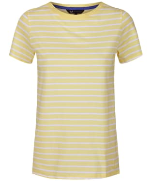 Women's Crew Clothing Breton Top - Pale Lemon