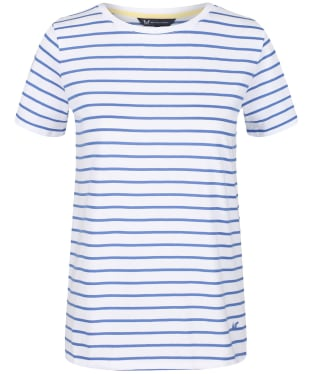 Women's Crew Clothing Breton Top - Amparo Blue