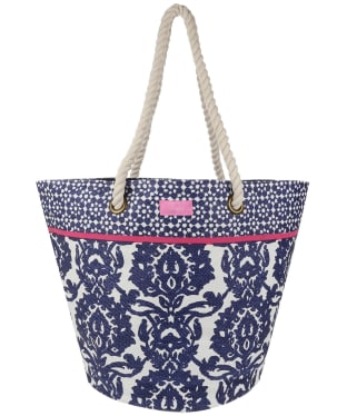 Women's Joules Summer Bag - White Geo