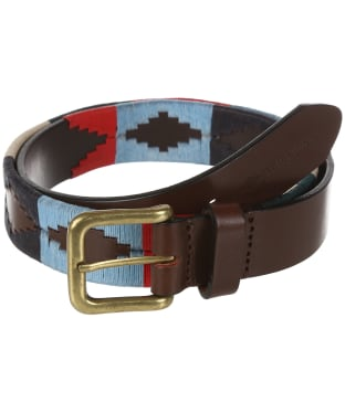 pampeano Leather Polo Belt - Multi