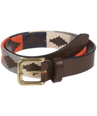 pampeano Leather Polo Belt - Ocaso
