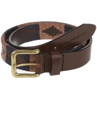 pampeano Leather Polo Belt - Jefe