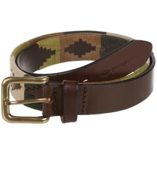 pampeano Leather Polo Belt - Valiente