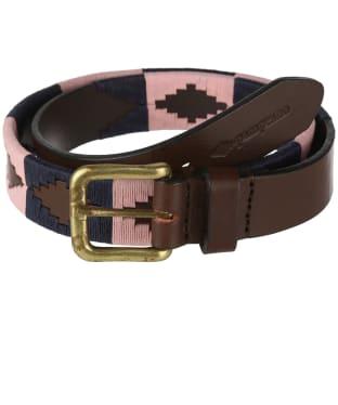 pampeano Leather Polo Belt - Hermoso