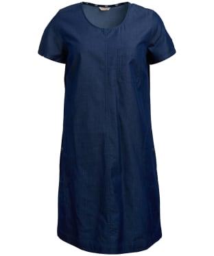 Women's Barbour Slipway Dress - Denim Blue