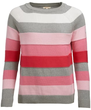 Women's Barbour Overseas Knit Sweater - Lobster
