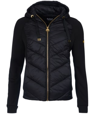 Women's Barbour International Engelberg Overlayer - Black