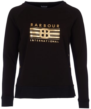 Women's Barbour International Cortina Overlayer - Black