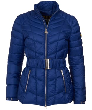 Women's Barbour International Morzine Quilted Jacket - Ultra Marine