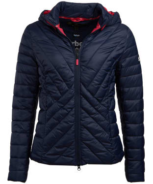 Women's Barbour Rowlock Quilted Jacket - Navy