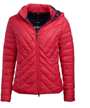 Women's Barbour Rowlock Quilted Jacket - Lobster