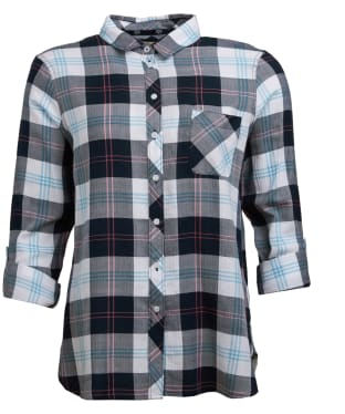 Women's Barbour Shoreline Shirt - Navy Check