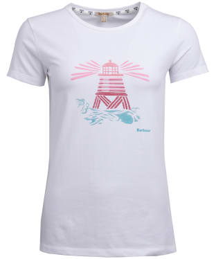 Women's Barbour Windbound Tee - White