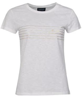 Women's Barbour International Cortina Tee - White