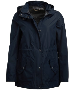 Women's Barbour Groundwater Waterproof Jacket - Navy
