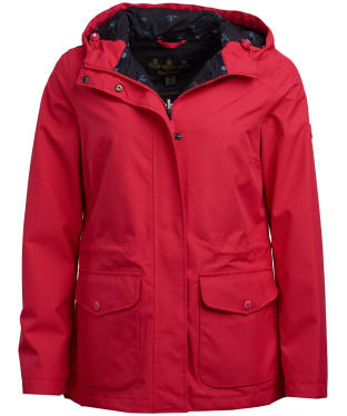 Women's Barbour Overseas Waterproof Jacket - Lobster
