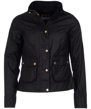Women's Barbour International Livingo Wax Jacket