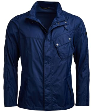 Men's Barbour International Series Casual Jacket - Regal Blue