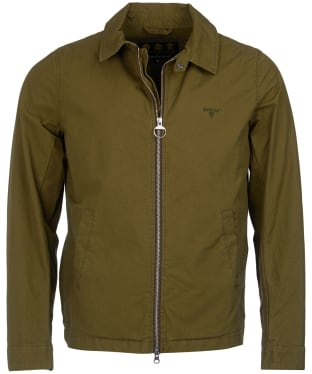 Men's Barbour Essential Casual Jacket - Racing Green