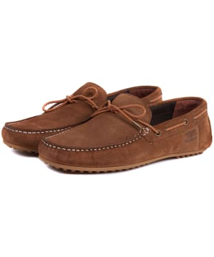 Men's Barbour Eldon Suede Shoes - Tan