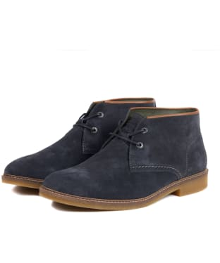 Men's Barbour Kalahari Desert Boots - Dark Grey