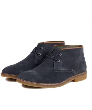 Men's Barbour Kalahari Desert Boots - Dark Grey