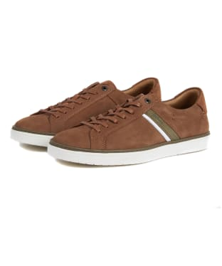 Men's Barbour Arrow Trainers - Tan