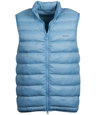 Men's Barbour Bretby Gilet - Faded Blue