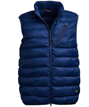 Men's Barbour International Brake Gilet - Regal Blue
