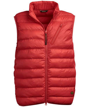 Men's Barbour International Brake Gilet - Racing Red