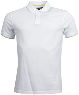 Men's Barbour Aubrey Polo Shirt - White
