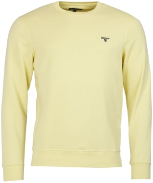 Men's Barbour Seton Crew Neck Sweater - Lemon Zest