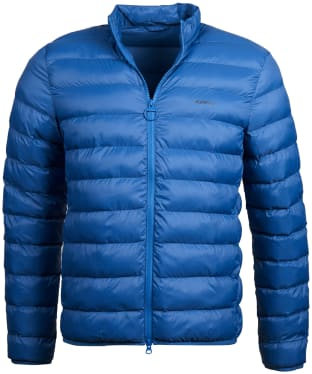 Men's Barbour Penton Quilted Jacket - Loch Blue