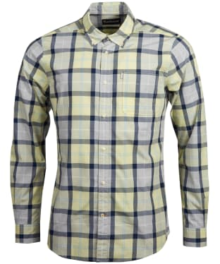 Men's Barbour Burnside Shirt - Lemon Zest