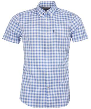 Men's Barbour Gingham Short Sleeved Tailored Shirt