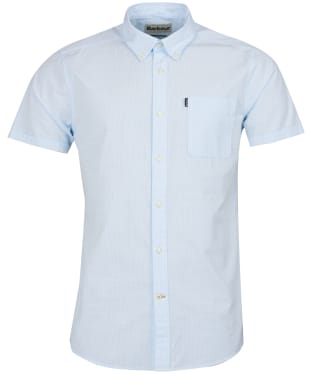 Men's Barbour Stripe 4 Short Sleeved Tailored Shirt