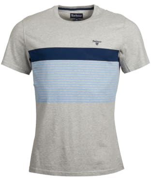Men's Barbour Braeside Tee - Light Grey Marl