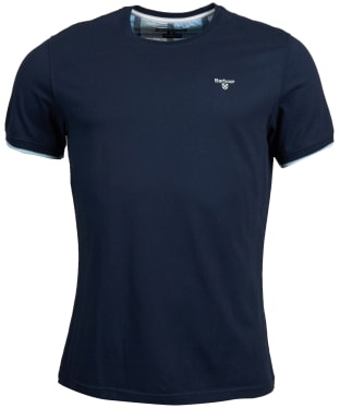 Men's Barbour Daldorch Tee - Navy