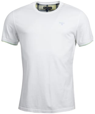 Men's Barbour Daldorch Tee - White