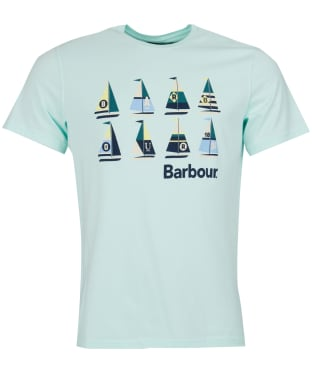 Men's Barbour Sail Tee - Pale Mint