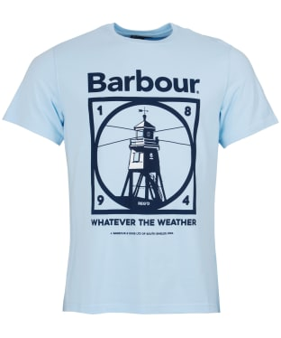 Men's Barbour Tarbert Tee - Ocean Blue