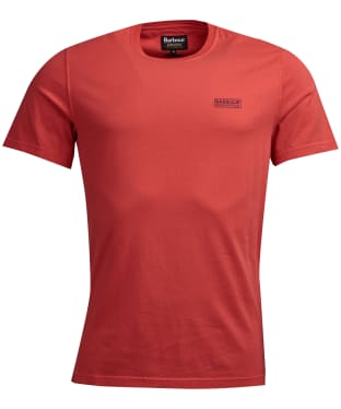 Men's Barbour International Valve Pigment Tee - Racing Red