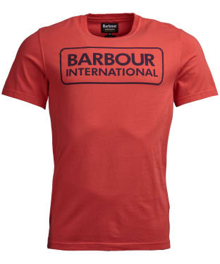 Men's Barbour International Kit Pigment Tee - Racing Red