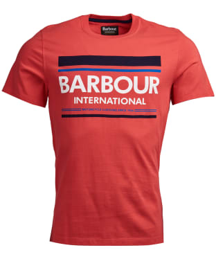 Men's Barbour International Control Tee - Racing Red
