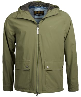 Men's Barbour Howtown Waterproof Jacket - Light Moss